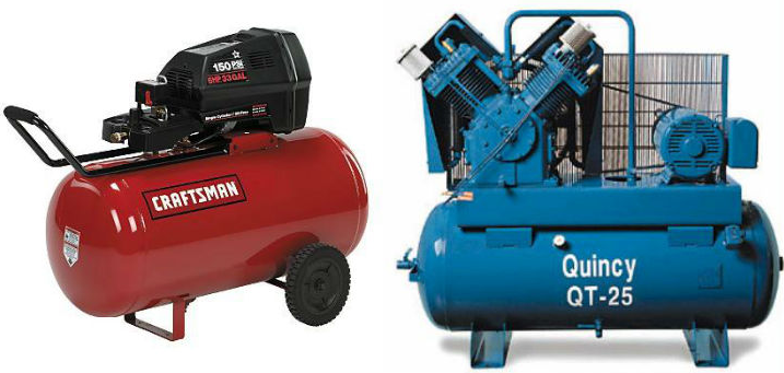 What size air compressor do I need for painting