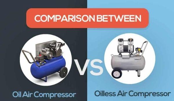 Oil Vs Oilless Air Compressor