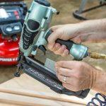 what size air compressor for a nail gun